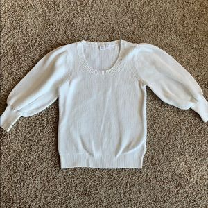 GAP puff sleeve sweater